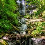 asheville waterfalls